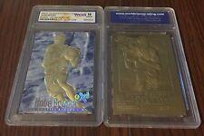 1996-97 KOBE BRYANT SKYBOX NBA Graded 23K GOLD ROOKIE card GEM MINT 10 ltd edt