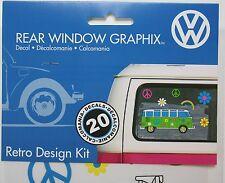 VW volkswagen bus Van Car logo Sticker Decal Vinyl sign emblem peace love flower