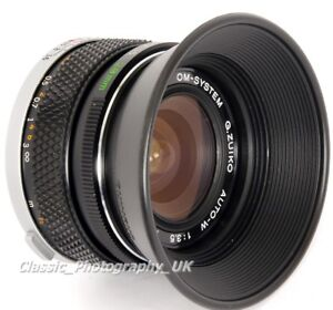 Olympus OM-System ZUIKO 28mm F2.8 & 28mm F3.5 Lens Hood Genuine Made in Japan!
