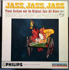 Franz Jackson - Jass Jass LP VG+ PHM 200-013 Vinyl 1959 Mono Jazz Record 1st