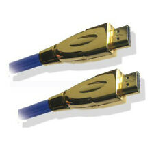 3m Long High Speed HDMI V1.3 Cable Lead with Ferrite Core Gold Plated Braided