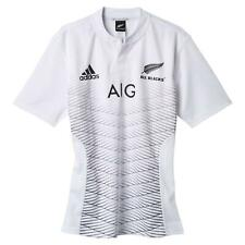 adidas ALL BLACKS ALTERNATIVE JERSEY 2015 WHITE NEW ZEALAND RUGBY UNION SHIRT