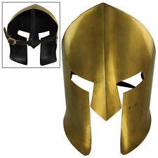 Ancient Greek Spartan Brass Medieval Battle Mask Armor