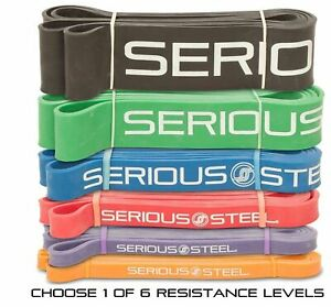 """Serious Steel Fitness 41"""" Pull Up Assist Band 