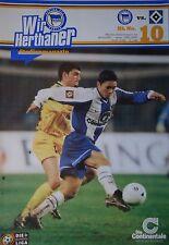 Programm 1999/00 Hertha BSC Berlin - Hamburger SV