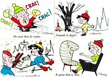 s27453) N.4 Sexy French Post Cards