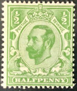 Great Britain #155 Mint CV$45.00 1912 KGV Downey Head Die I