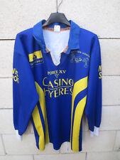 Maillot porté n°45 HYERES Rugby Club HYEROIS Force XV worn shirt vintage L