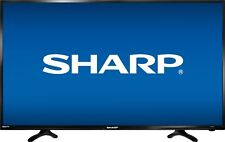 "Sharp - 40"" Class - LED - 1080p - Smart - HDTV Roku TV - Black"