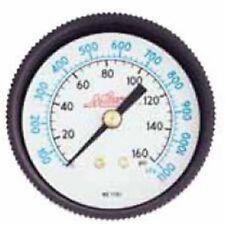 """Milton 1190 Gage 1/4"""" NPT, 0-60 PSI - Center Mount"""