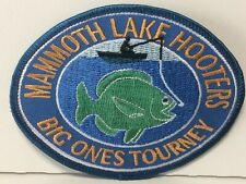 VHTF 1999 Mammoth Lake Hooters Big Ones Tourney Iron on Patch Never Used Mint