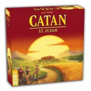 Catan : El juego básico en castellano - Los colonos de Catan - Devir juegos