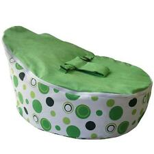 Baby Bean Bag with 3 Point Harness Beanbag Snug Chair Toddler Seat w/Inner bag