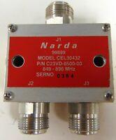 NARDA CEL30432 COAXIAL DIRECTIONAL COUPLER 849-896 MHz, C23VD-8500-00