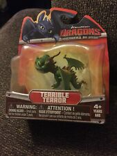 "HOW TO TRAIN YOUR DRAGON TERRIBLE TERROR 2013 3"" ACTION FIGURE NEW"