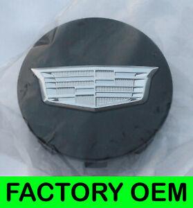 NEW Cadillac Eescalade Black Chrome Factory OEM GM Wheel Center Cap x1 19333201