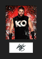 KEVIN OWENS #1 (WWE) Signed (Reprint) Photo A5 Mounted Print - FREE DELIVERY