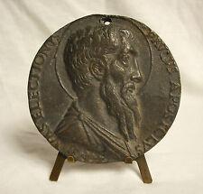 Médaille Profil de Saint Paul de Tarse Vaselectioni Paulus Apostolus XVIIe Medal