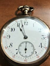 Antique Crecent Pocket Watch