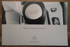 MERCEDES BENZ SLK FINAL EDITION orig 2003 German Mkt Sales Brochure Prospekt