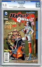Harley Quinn #5  CGC  9.8 NMMT  White pgs 6/14   Chad Hardin art, Amanda Conner