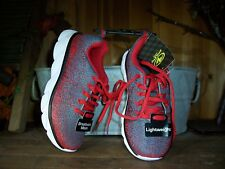 ATHLETIC WORKS BOY TODDLER ATHLETIC SHOES SIZE 12 COLOR RED KIDS SCHOOL SHOES