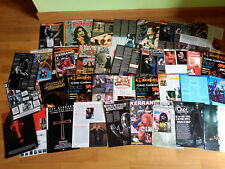 BLACK SABBATH OZZY OSBOURNE DIO HEAVEN AND HELL LOT 5 POSTER BIG SET CLIPPINGS