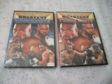 ROY JONES JR'S GREATEST KNOCKOUTS AND GREATEST POWERSHOTS NEW SHIPS FREE USA DVD