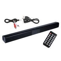 Subwoofer Soundbar TV Sound Filaire et Sans Fil Bluetooth Haut-Parleur Basses
