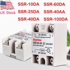 Fotek Solid State Relay Module Dc Input 24 480vac Ssr 90da 90a Control Ac