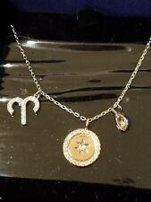 Swarovski Zodiac Pendant Aries Pink Rhodium Plated 5349220 Gift Discount
