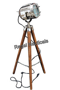 Designer Marine Floor Lamp,Nautical Floor Light Tripod Stand Vintage Light/lamp