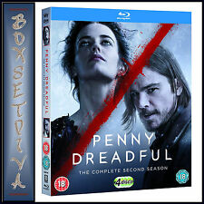 PENNY DREADFUL - COMPLETE SEASON 2  *BRAND NEW BLU-RAY**