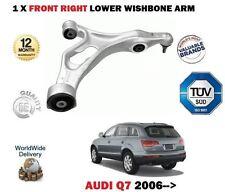pour Audi Q7 4L 2006- > ESSIEU AVANT COTE DROIT BRAS DE SUSPENSION INFÉRIEUR
