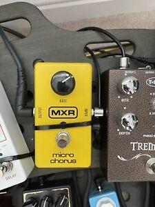 Mxr Micro Chorus Guitar Pedal