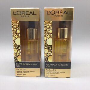 2x L'Oreal Paris Extraordinary Oil Nourishing Facial Oil with Essential Oil 30ML