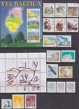 Estonia 1995 full year set.MNH