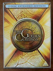 Golden Compass DVD 2007 Philip Pullman His Dark Materials Fantasy Movie 2-Discs