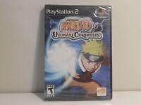 Naruto: Uzumaki Chronicles PS2 Brand New Sealed!