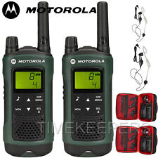 10Km Motorola TLKR T81 Hunter IPX4 Rugged All Weather Two Way Radios Twin Pack