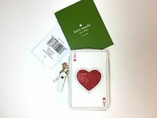 Kate Spade Playing Cards Ace Of Hearts Place Your Bets Las Vegas NWT Coin Purse
