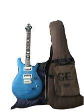 PRS SE Custom 24 Sapphire / Black Back E-Gitarre inkl. Gigbag | Wie Neu