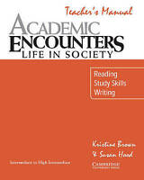 Academic Listening Encounters Teacher's manual. Listening, Note Taking, and Disc