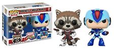 Funko 22773 Capcom Marvel Rocket VS Megaman X Pop Vinyl Figure