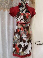 linea raffaelli 12 wedding outfit, beautiful on, vibrant colours