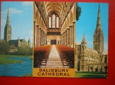 Salisbury Unposted Printed Collectable Wiltshire Postcards