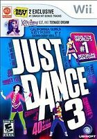 Just Dance 3 (Nintendo Wii, 2011) DISC ONLY UBISOFT FAST SHIPPING