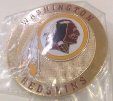 Washington Redskins metal Round Logo Poker Cards Protector
