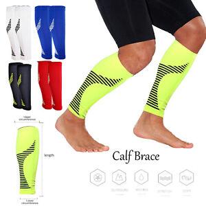 Calf Support Adjustable Brace Shin Splints Varicose Veins Running Leg Sleeves UK
