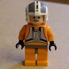 LEGO star wars wedge Antilles personnage (pilote orange voies antilis x-wing) NEUF